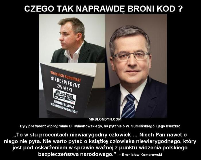 SUMLIŃSKI vs Komorowski